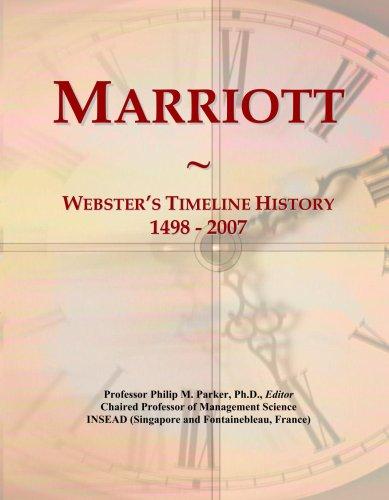 marriott-websters-timeline-history-1498-2007