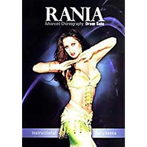 Rania Advanced Choreography Drum Solo Belly Dancing DVD
