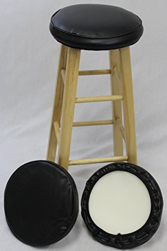 eHemco Bar Stool Cover With Foam Set of 3 (Bar Stool Covers Round Cushion compare prices)