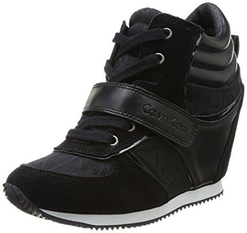 Calvin Klein Jeans - Viridiana Sneaker Donna, colore nero (bbk), taglia 39