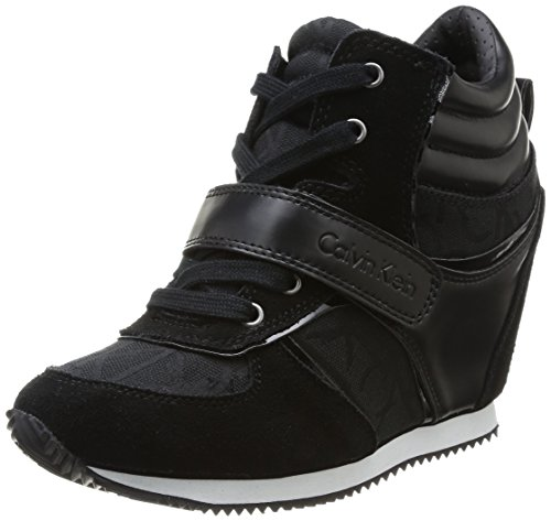 Calvin Klein Jeans  Viridiana,  Sneaker donna, Nero (BBK), 37
