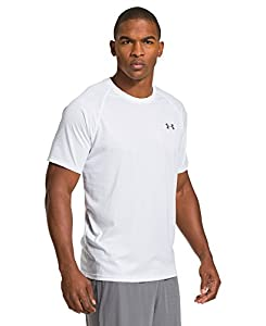 Under Armour Men's UA Tech™ Patterned Short Sleeve T-Shirt Small White