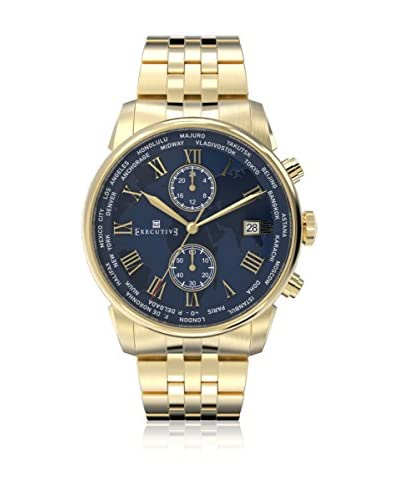Executive Reloj de cuarzo Man Double Breasted EX-1002-16 42 mm