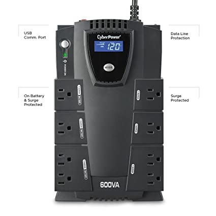 CP600LCD-600-VA-UPS