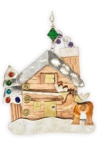 Pilgrim Imports Murphy Moose Lodge Fair Trade Ornament