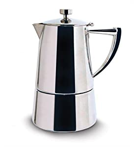 Cuisinox Roma Stainless Steel Stovetop Espresso Maker by Cuisinox