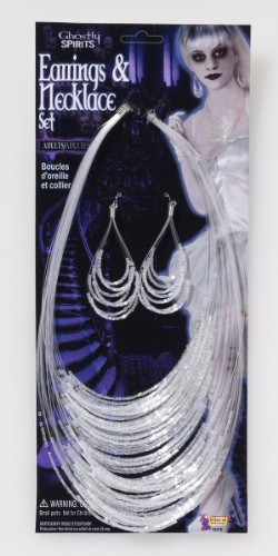 Ghostly Spirits Earrings and Necklace Set