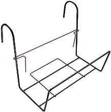 Plastia - soporte de metal Siestino para el balcón