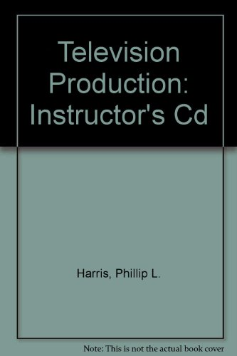 Television Production, Instructor's CD