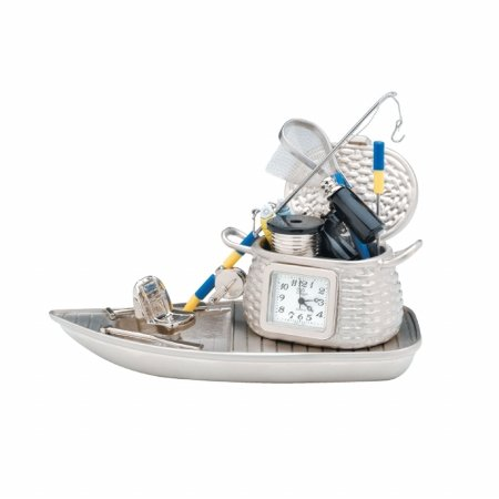 Image of Fishing Boat Clock (B001JT5ZEC)