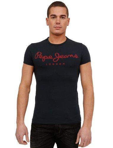 Pepe Jeans Pm500374 Flare Blue Man T-shirts Make Men - Xl