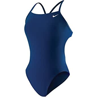 Amazon.com : Nike Poly Core Solid Cut Out Tank Swimsuit