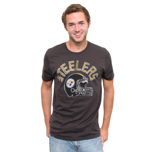 NFL Pittsburgh Steelers Kick Off Crew T-Shirt, BKWA, X-Large