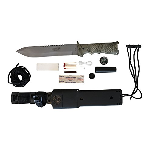 Top Quality Survival Knife with Sheath - Amazon Jungle Survival Knife with Survival Kit-extreme Survival Knife with Drop Point Schrade-fixed