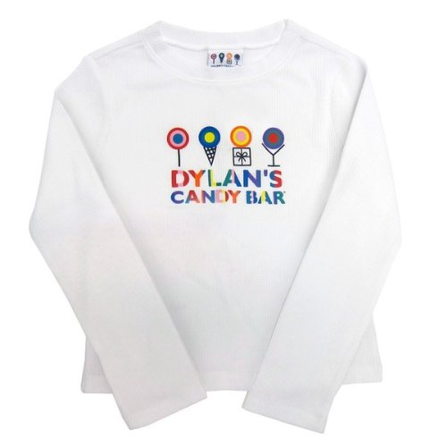 Dylan's Candy Bar Long Sleeve Logo Tee - Youth