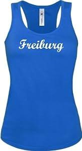 Shirtstown Lady Tanktop City Stadt Shirt Freiburg Deine Stadt kult viele Farben XS-XL