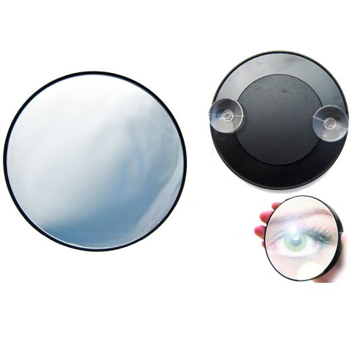 Magnifying Mirror 15X Suction Cup Makeup Compact Cosmetic Face Care Shave Travel front-354243