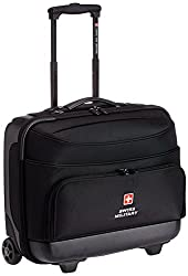 Swiss Military ABS 45 liters Black Laptop Trolley Bag (LTB-2)