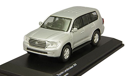 Kyosho original 1/64 Toyota Land Cruiser 200 silver metallic