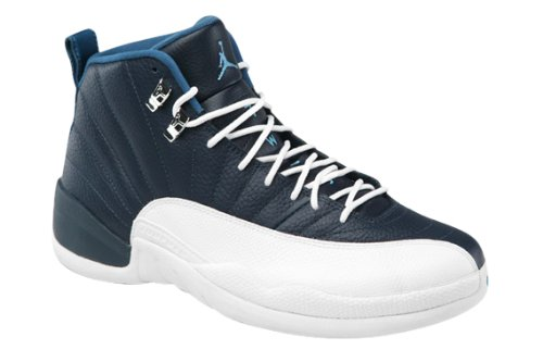 Youth Nike Air Jordan 12 Retro (GS) Obsidian / University Blue / White Size 6.5