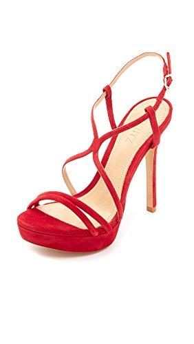 Schutz Women's Gabby Dress Sandal, Scarlett, 8 M US (Schutz Shoes compare prices)