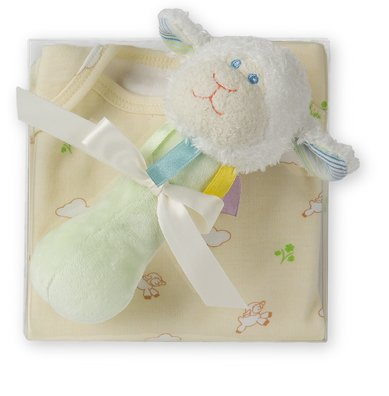 Mary Meyer Little Lamb Baby Gift Set