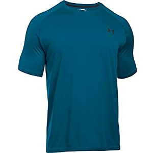 Under Armour Men's UA Tech Short Sleeve T-Shirt Small PEACOCK