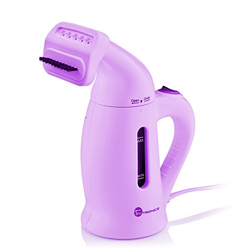 Garment Steamer, TaoTronics Handheld Portable Fabric Steamers For Clothes - Powerful Steamer with Fast Heat-up, 120ml Capacity Perfect for Home and Travel - Purple