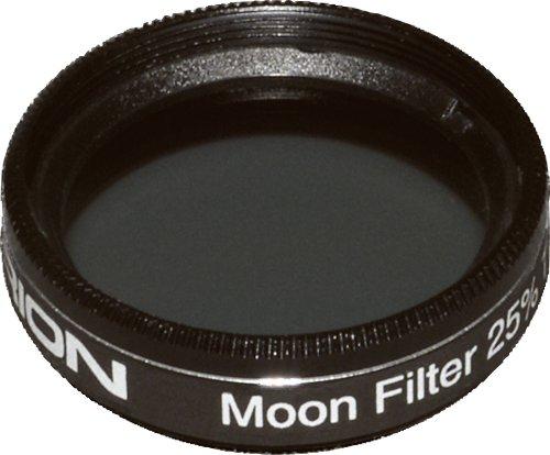 Orion 05598 1.25-Inch 25 Percent Transmission Moon Filter (Black)