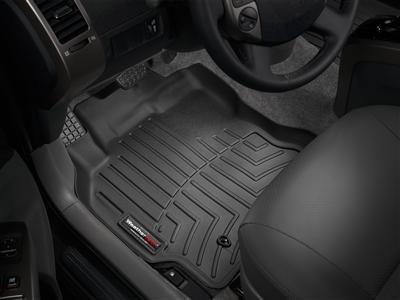 2015 Hyundai Genesis Coupe Black Floor Liners - Front Set [Dual Floor Posts Retention Device] (Weathertech 447251 compare prices)