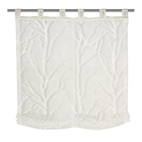 Home Fashion 79261-801 Roman Blind with Loops 140 x 100 cm