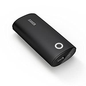 [Smart Port] Anker® 2nd Gen Astro 6000mAh Portable Charger Rapid-Recharge (2A Output) Backup External Battery Shake-to-Wake power pack for iPhone 5S, 5C, 5, 4S, 4, Retina Mini 2, Samsung Galaxy S4, S3, Galaxy Tab, PS Vita, Gopro and more (Apple adapters