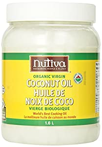 Nutiva Organic Virgin Coconut Oil, 54oz, (Count of 2)