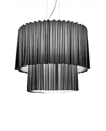Skirt Pendant Lamp - Skr150-2 (Large, 2 Tier) - Brown, 220 - 240V (For Use In Australia, Europe, Hong Kong Etc.), Double - G53 + Led Rgb