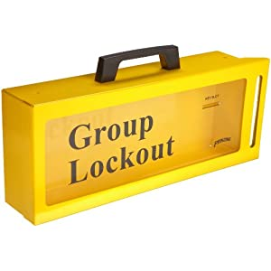Brady Wall Mount Group Lock Box For Lockout Tagout Metal