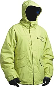 Billabong Men's Bonz Snow Jacket - Lime, Large
