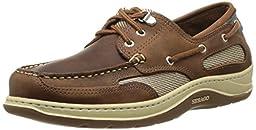 Sebago Men\'s Clovehitch II Boat Shoe,Walnut,8 WW US