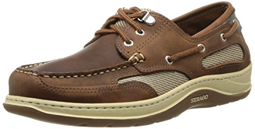 Sebago Clovehitch II - Scarpe da Barca Uomo, Marrone (Walnut Leather), 41 EU
