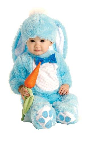 Rubie's Baby Handsome Lil Wabbit Costume, Blue, 0-6 Months