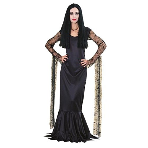 Rubie's Costume Co Womens Morticia Addams Halloween Party Dress Costume