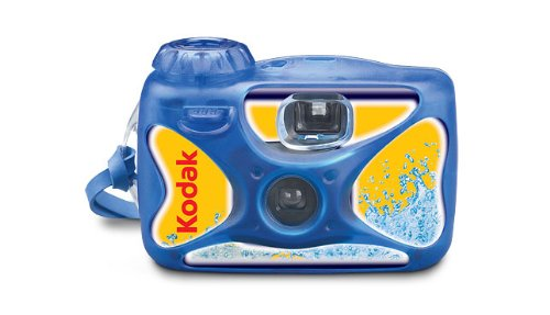 Cheapest Prices! Kodak Sport Disposible Camera, 27 Exposure, Waterproof up to 50 feet
