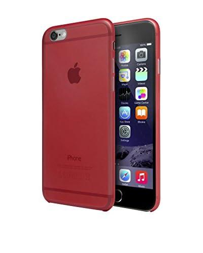 Unotec Funda Super-Slim iPhone 6/6S Rojo
