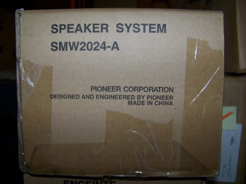 Pioneer Smw2024-A Speaker System For Pdp-6020Fd Plasma Tv