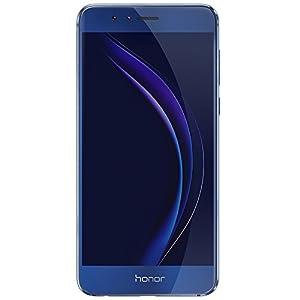 Honor 8 Smartphone débloqué 4G (Ecran: 5,2 pouces - 32 Go - Double Nano-SIM - Android 6.0) Bleu Saphir