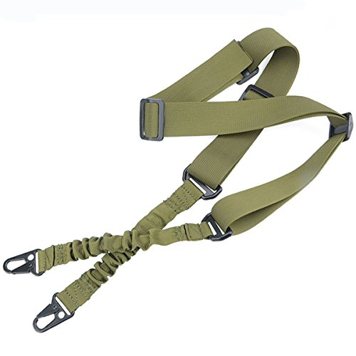 LVLING 2 Point Multi-Use 2-IN-1 Rifle Gun Sling Adjustable Shoulder Rope Strap Cord for Outdoor Sports, Hunting (Ithaca Model 37 Barrel compare prices)