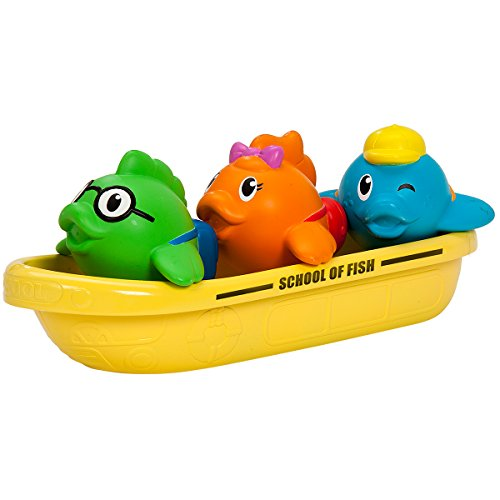 Munchkin Bath Toy, School of Fish - 1