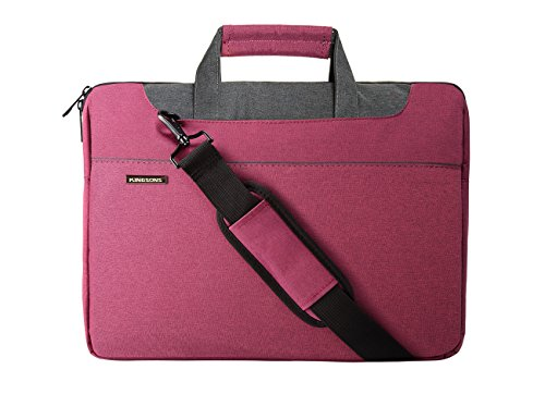BAGSMART Sweet 15.6 Inch Multi-functional Laptop Bag Sleeve Case Cover Briefcase for Girls Pink (Thule Macbook Hard Case compare prices)