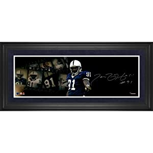 Tamba Hali Penn State Nittany Lions Framed Autographed 10
