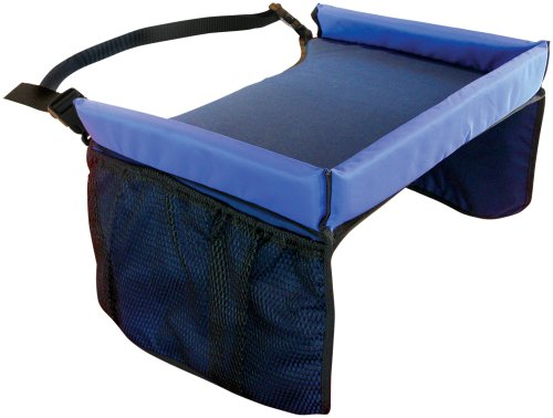 Star Kids Snack & Play Travel Tray, Navy Blue