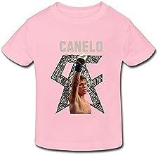 JeFF Baby Toddler39s Boxer Canelo Alvarez O-neck Cotton T-shirt For 2-6 Years US Size